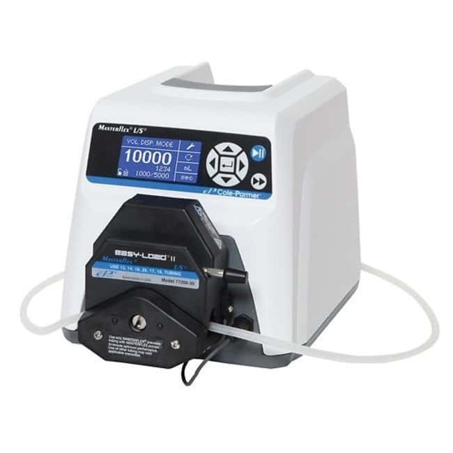 Cole Parmer Masterflex L/S Digital Dispensing Pump Systems with Open-Head Sensor and Easy-Load Head