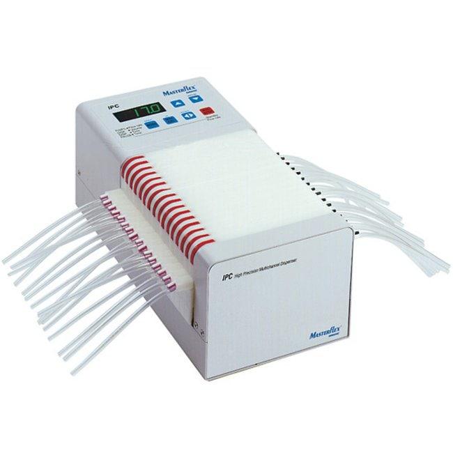 Ismatec™Pompe péristaltique IP-12 Débit: 0,0004 à 11ml/min; nombre de canaux: 8 Ismatec™Pompe péristaltique IP-12