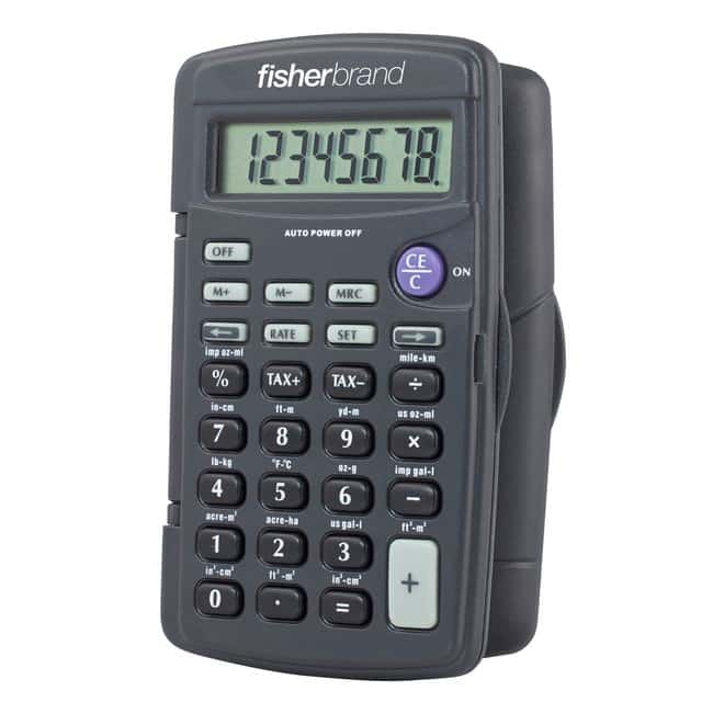 Fisherbrand™Compact-Sized Metric Conversion Calculator