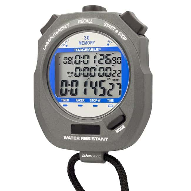 Fisherbrand™Traceable™ Dual-Display Digital Stopwatch
