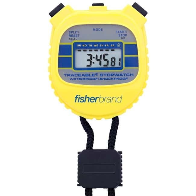 Fisherbrand™ Traceable™ Waterproof/Shockproof Stopwatches