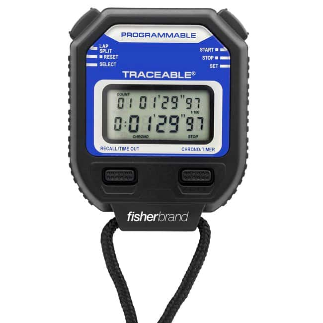 Fisherbrand™ Traceable™ Stopwatch/Repeat Timer