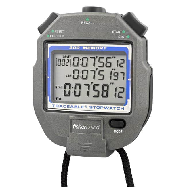 Fisherbrand™ Traceable™ 300-Memory Stopwatch