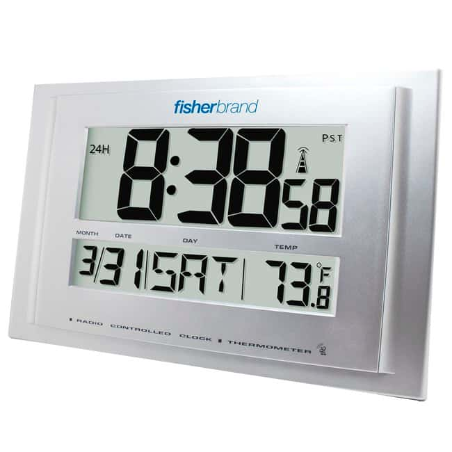 Fisherbrand™ Traceable™ Big-Digit Radio Atomic Wall Clock