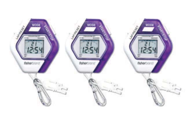 Fisherbrand™ Traceable™ Kaleidoscope Stopwatches