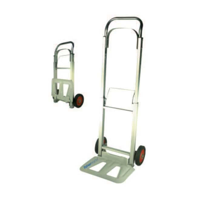Fisherbrand™ Aluminum Foldup Hand Truck Platform: 14W x 9.5L in. General Purpose Dollies and Trucks