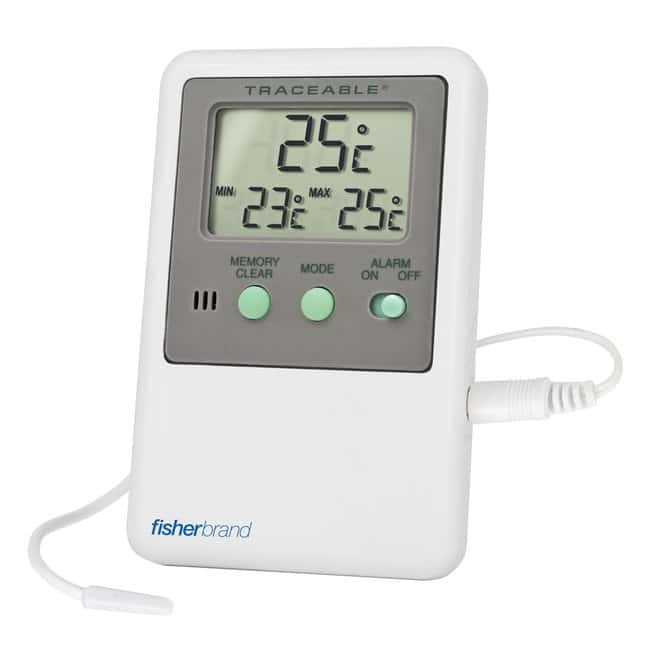 Fisherbrand Traceable Digital Thermometers with Short Sensors:Testing and