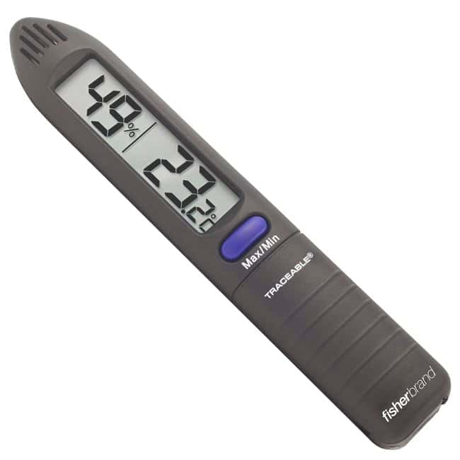 Fisherbrand™ Traceable™ Humidity/Temperature Pen with Memory Pen with memory Electronic Hygrometers