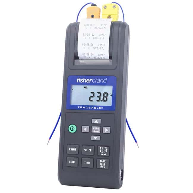 Fisherbrand™Traceable™ Printing Thermometers -50°to +70°C Fisherbrand™Traceable™ Printing Thermometers