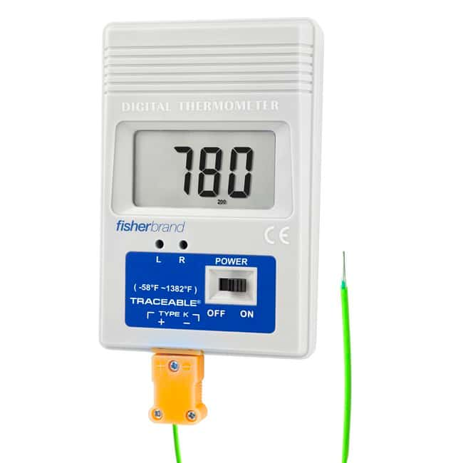 Fisherbrand Traceable Pocket-Size K Thermometer:Testing and Filtration:Water