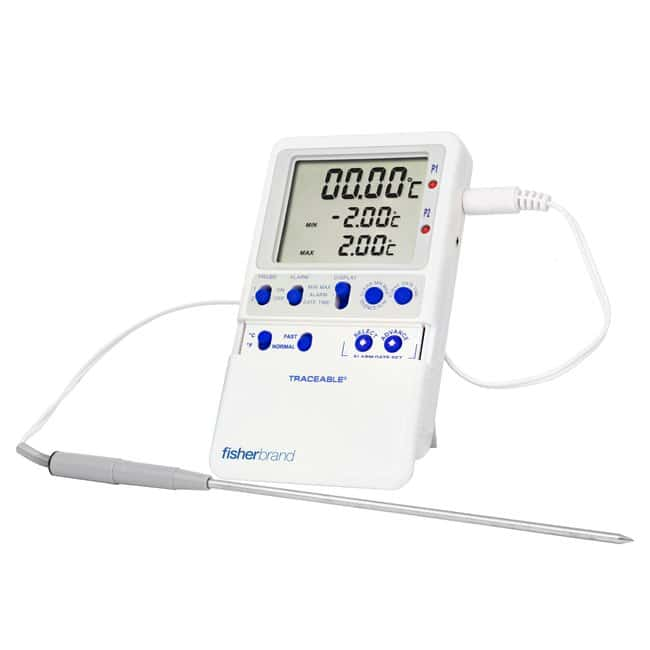 Fisherbrand™Traceable™ International Standards Extreme-Accuracy Digital Thermometers Reads to 0.00 Products