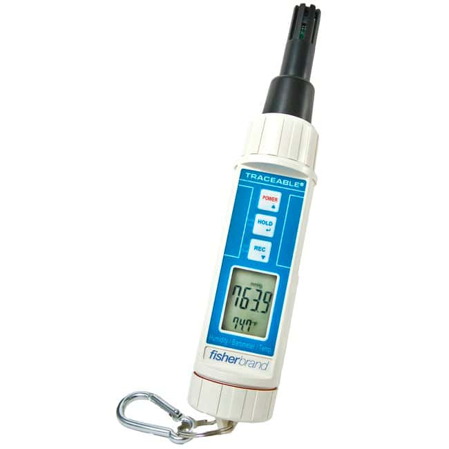 Fisherbrand Traceable Hygrometer/Thermometer/Barometer/Dew Point Pen Resolution: