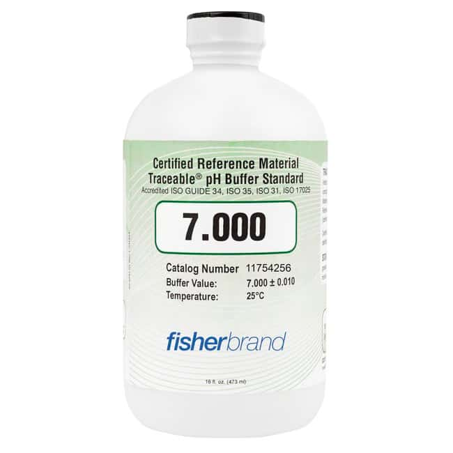 Fisherbrand™ Traceable™ pH Buffer Standards, Certified Reference Material (CRM)