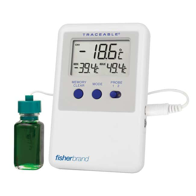 Fisherbrand™Traceable™ Refrigerator/Freezer Ultra™ Thermometers: Scientific Thermometers Thermometers, Timers and pH