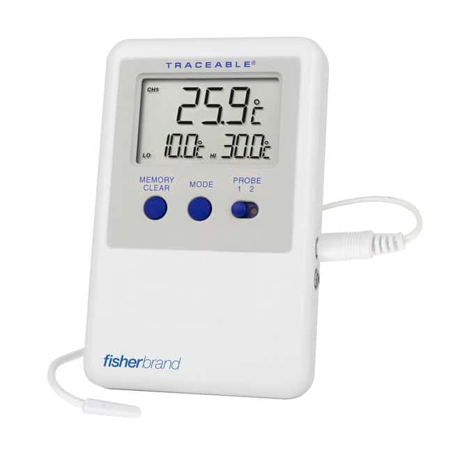 Fisherbrand Traceable Refrigerator/Freezer Ultra Thermometers :Thermometers,