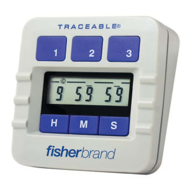 Fisherbrand™ Traceable™ Digital Three-Channel Alarm Timer