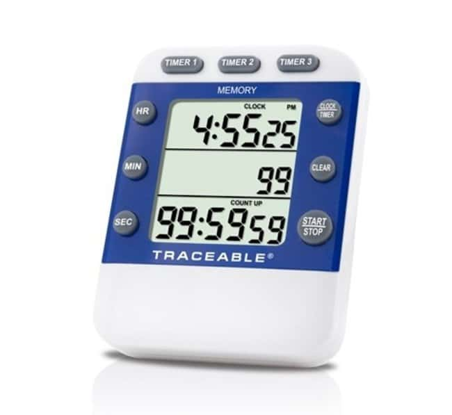Fisherbrand™ Traceable™ Three-Line Alarm Timer