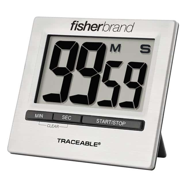 Fisherbrand Traceable GIANT-DIGIT Countdown Timer 1.3 in. digit height;