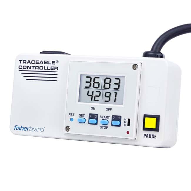 Fisherbrand Traceable Walkaway Count-up Controllers, Walkaway Turn-off