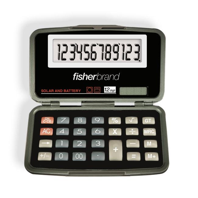 Fisherbrand12-Digit Calculator with Oversized Display 12-Digit calculator;