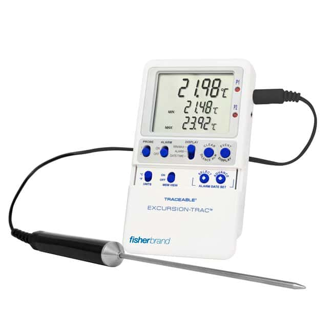 Fisherbrand Traceable Excursion-Trac Datalogging Thermometers :Recorders