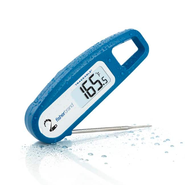 Fisherbrand Traceable 2-Second Temp Food Thermometer:Workspace Essentials