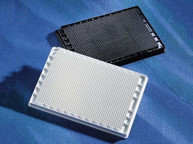 Corning™1536-Well, Cell Culture-Treated, Flat-Bottom Microplate