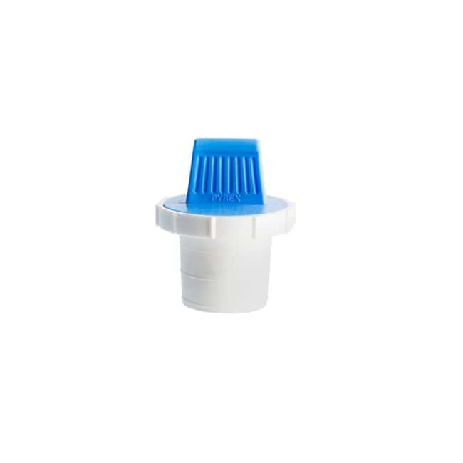 PYREXPear-Shaped Squibb Separatory Funnel with PTFE Product Standard Stopcock