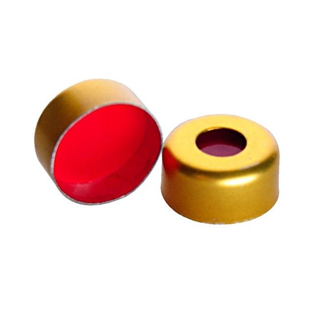 DWK Life Sciences MicroLiter 11mm Crimp Top  Autosampler Vial Seals Gold,