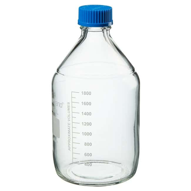 Fisherbrand  Reusable Glass Media Bottles with Cap