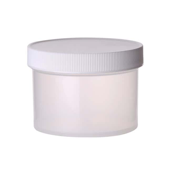 Fisherbrand  Straight Sided Jars with White Polypropylene Caps