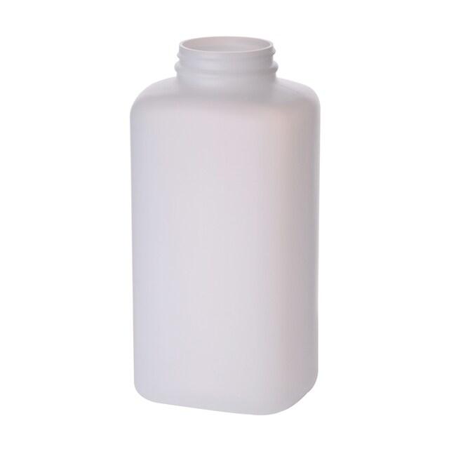Fisherbrand™Weithalsflaschen aus naturfarbenem HDPE ohne Kappen 1000ml Fisherbrand™Weithalsflaschen aus naturfarbenem HDPE ohne Kappen