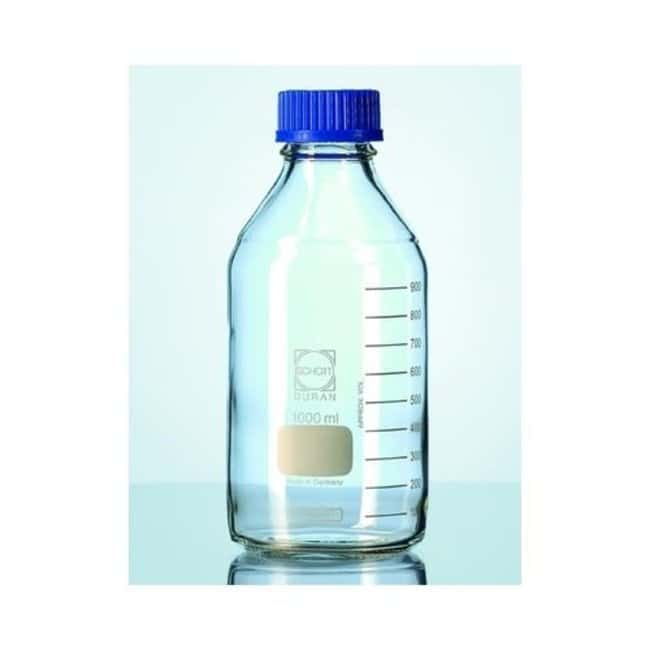 DWK Life SciencesDURAN™ GL 45 Laboratory Glass Bottles With PP Screw Cap and Pouring Ring