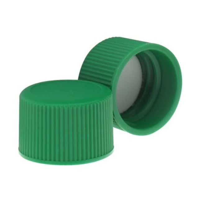 DWK Life SciencesWheaton™ Green Starline Polypropylene Caps for Redi-Pak™ Narrow-Mouth Containers