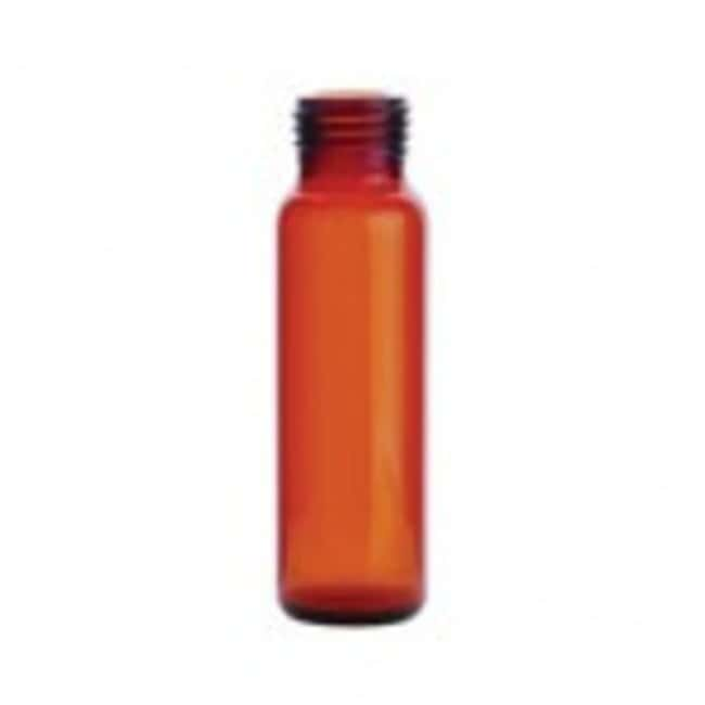 DWK Life Sciences MicroLiter 16mm Screwthread Headspace Vials 20mL, Amber,