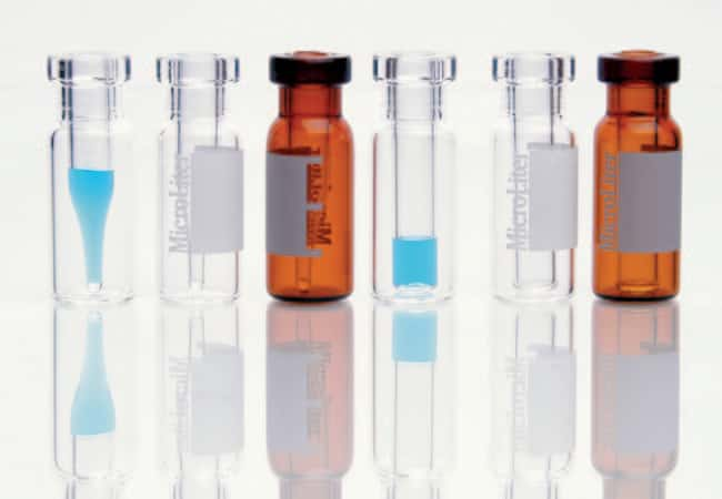 DWK Life Sciences MicroLiter Limited Volume Inserts for 9mm and 11mm Autosampler