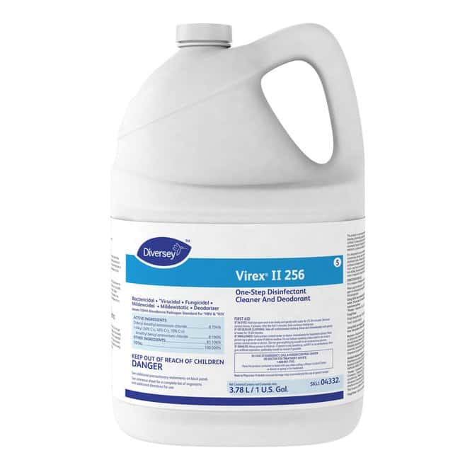 DiverseyVirex II 256 One-Step Disinfectant Cleaner and Deodorant:Laboratory