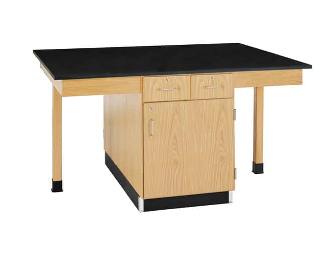 Diversified Woodcrafts 4 Station Table   Drawers: 2; Surface: 0.75 in.