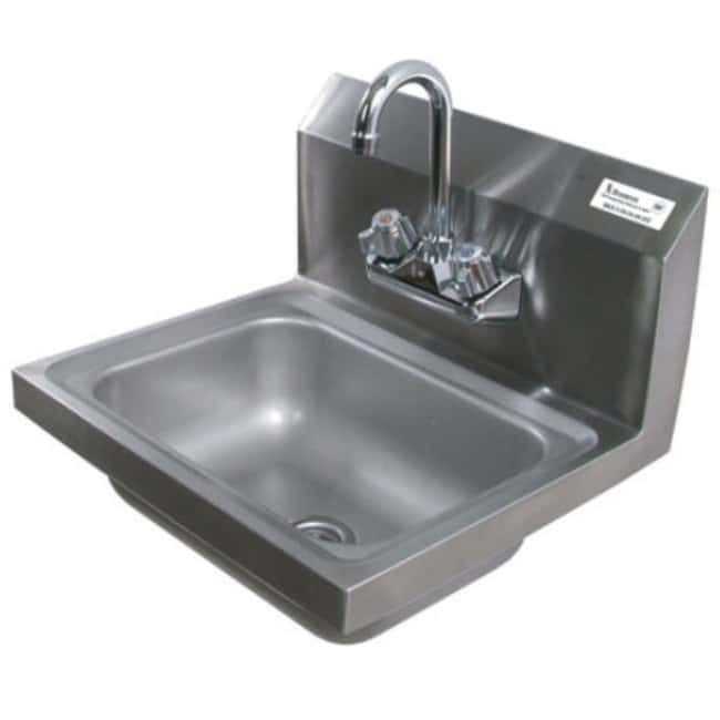 Diversified WoodcraftsHand Sink with Faucet D x W x H: 15.5 x 17 x 15 in.:Furniture