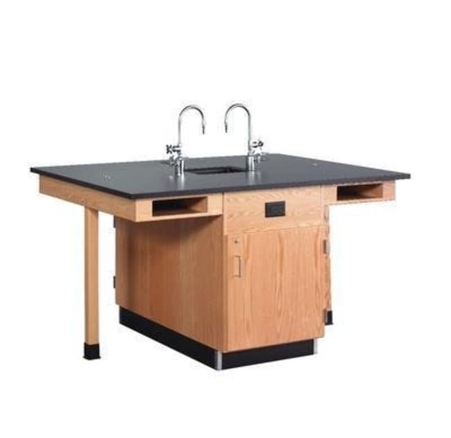 Diversified Woodcrafts 8-Station Service Center with Sink  :Teaching Supplies:Classroom