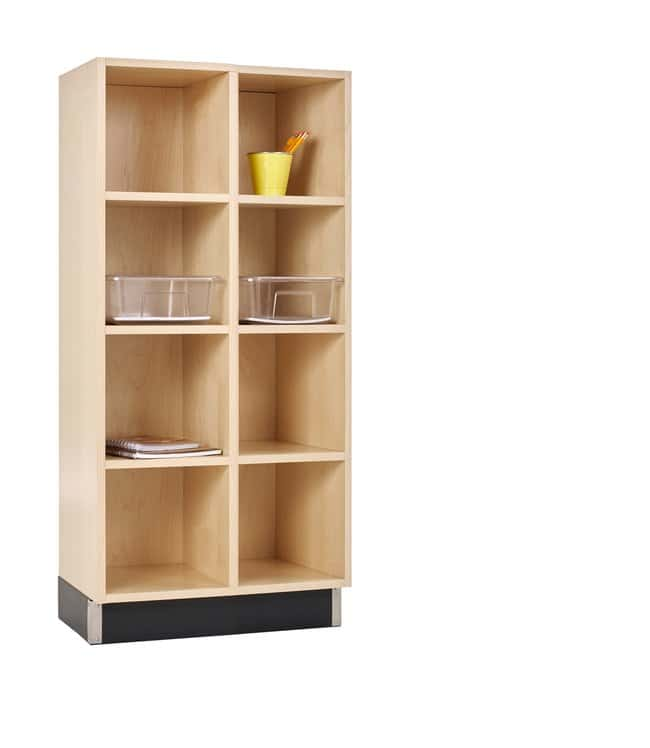 Diversified Woodcrafts Cubby Cabinet   Color: Maple; Width: 24 in.; Size: