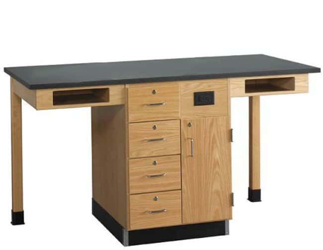 Diversified Woodcrafts 2-Station Service Center, Single Faced  :Teaching
