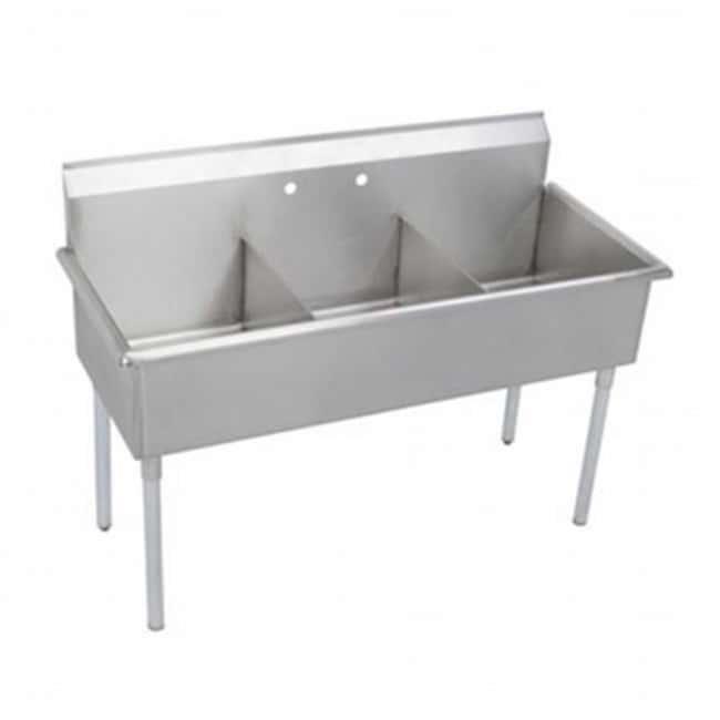 Diversified Woodcrafts20-Gauge Steel Compartment Sinks 20-Gauge Steel Compartment