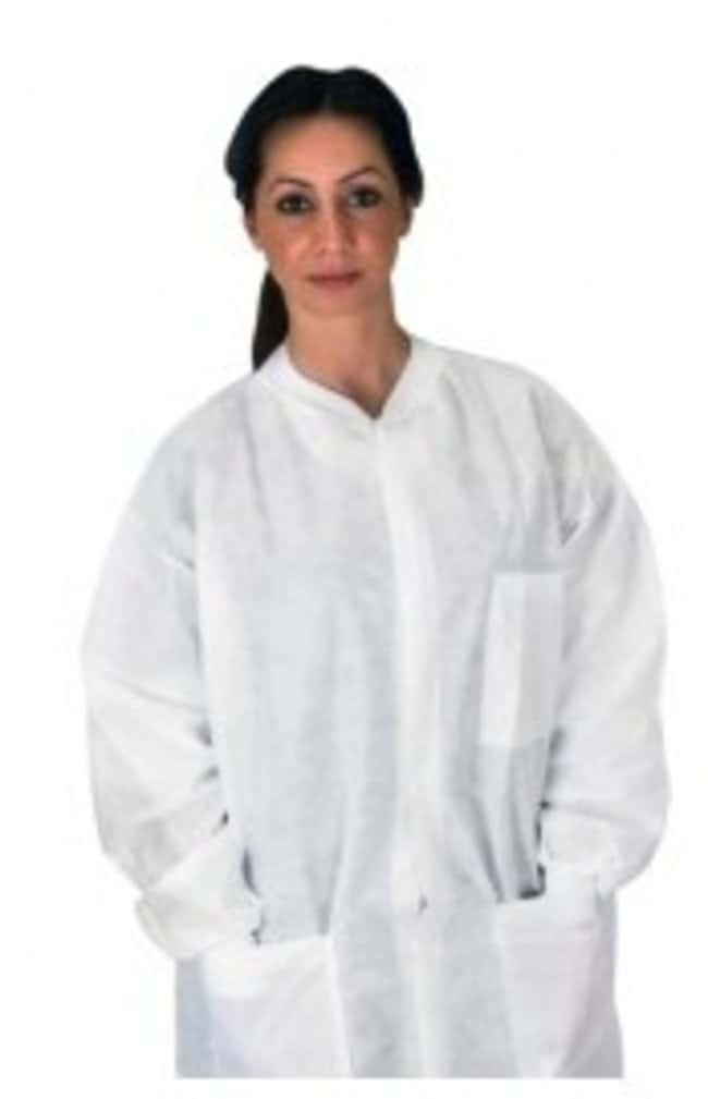 Dukal Non-Sterile Lab Coat With Pockets:Gloves, Glasses and Safety:Personal