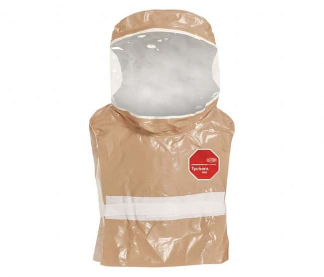DuPont Tychem CPF 3 Hoods Waist Length Dickey-Style; Tan:Testing and Filtration