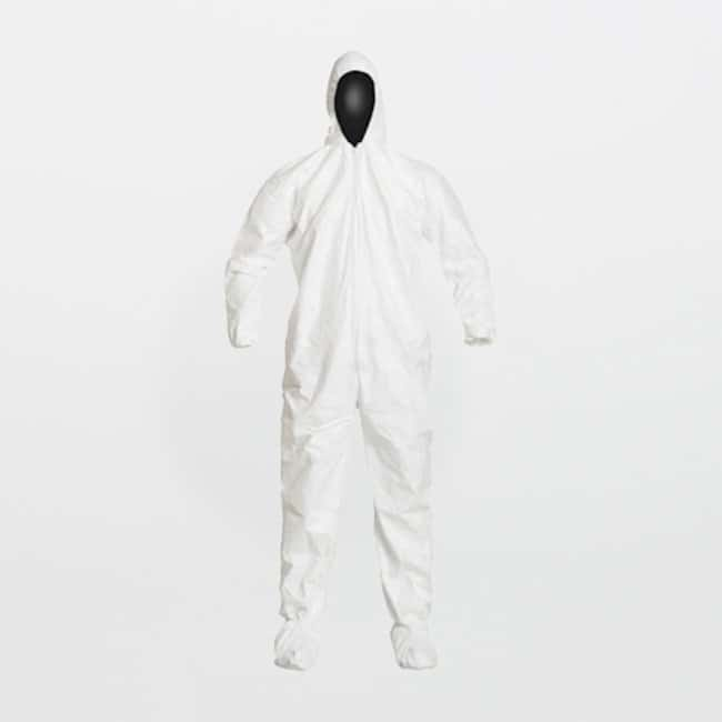 DuPont Tyvek IsoClean Series 105 White Coveralls:Gloves, Glasses and Safety:Controlled