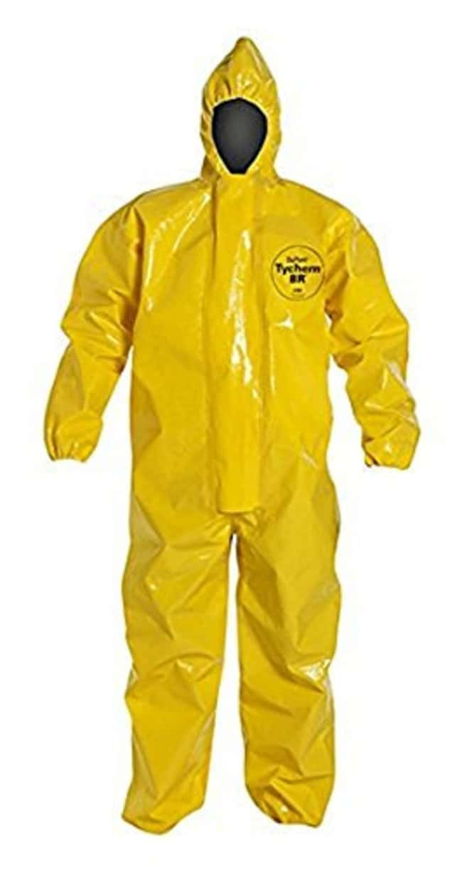 DuPont DuPont Tychem BR Coverall 4X-Large; Chest width: 32.62 in.; Fits