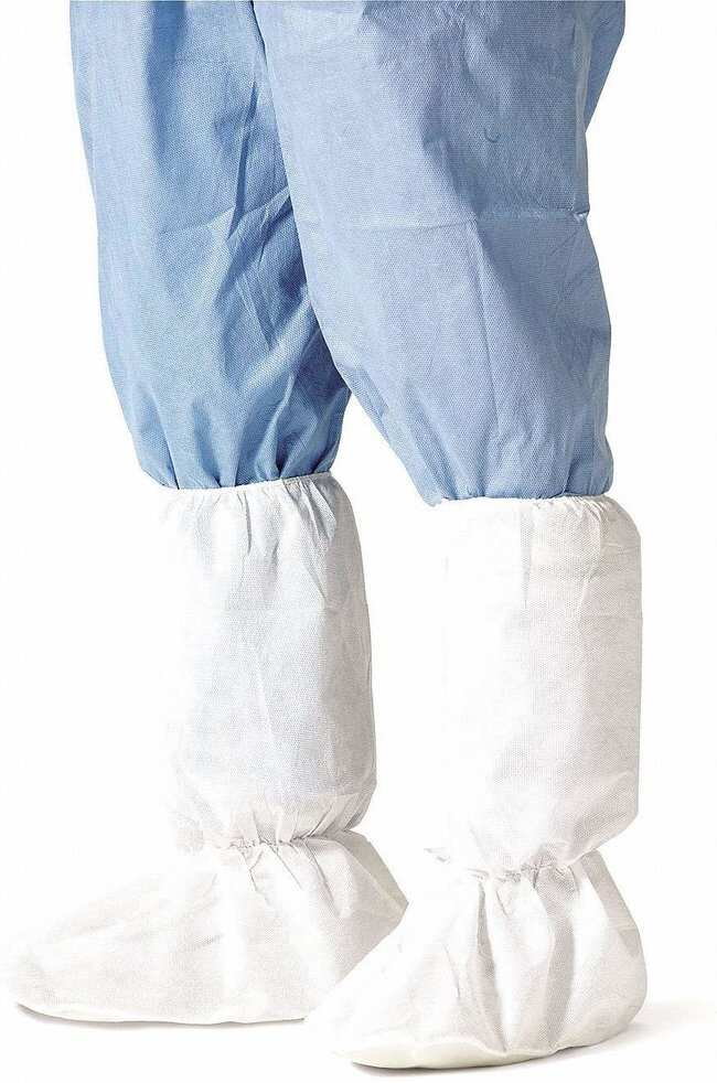 DuPont SureStep+/Dura-Trac Series 444 Boot Covers Large:Gloves, Glasses