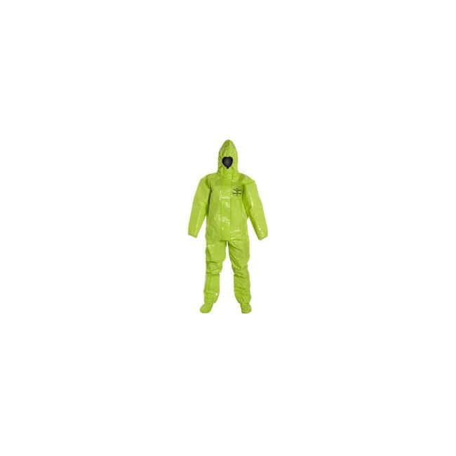 DuPont Tychem TK 128T Coveralls Lime yellow; Medium:Gloves, Glasses and