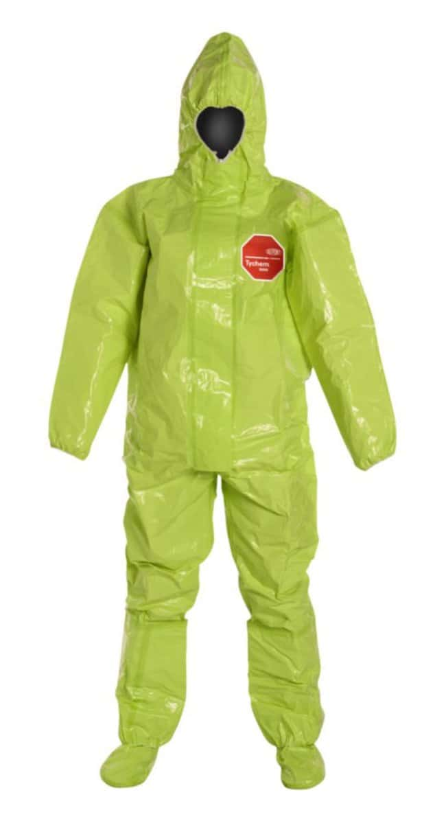 DuPontTychem TK 128T Coveralls Lime yellow; X-Large:Personal Protective